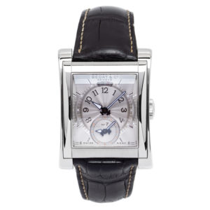 Bedat & Co No. 7 Dual Time Zone with Silver Dial & Box & Papers - 787.010.710 Dial