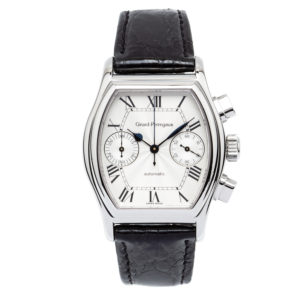 Girard Perregaux Richeville Chronograph Stainless Steel w/Roman Numeral Dial - 2750 Dial