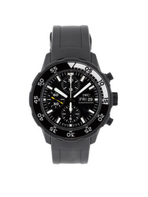 """IWC Aquatimer Chronograph """"Galapagos"""" Stainless Steel - IW376705 Dial"""