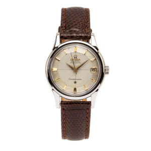 Vintage Omega Constellation Silver Bullseye Dial w/Gold Hour Markers - 168.005 Dial