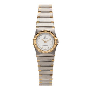 Omega Constellation Ladies TwoTone 18kt Yellow Gold/SS - 1262.30.00 Dial