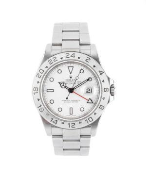 "Rolex Explorer II ""Polar White"" Stainless Steel 40mm – 16570 Dial"